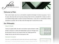 Plain: Web and Graphics